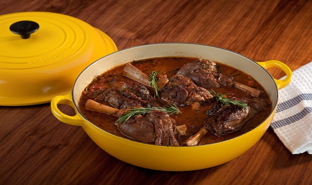 how to cook lamb shanks in oven without wine